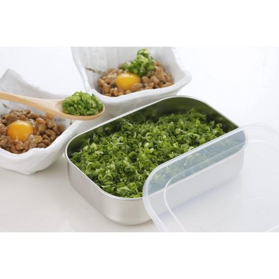【現貨】下村企販 不銹鋼食物盒 淺型 (2個組)