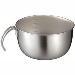 leye 20cm 不銹鋼手柄碗