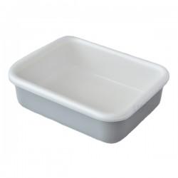 【現貨】富士琺瑯 Honeyware Cotton Series 食物盒 (連膠蓋) [Grey M size]