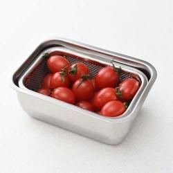 Arnest 瀝水食物盒套裝 [Size 1/4]