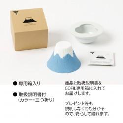 COFIL 富士山 陶瓷咖啡過濾器 [Blue]