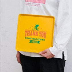 Delivery Tray 外賣托盤 [Yellow]