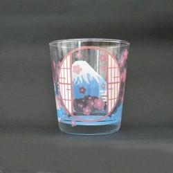 富士山 冷感變色玻璃杯 [窗]
