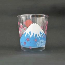 富士山 冷感變色玻璃杯 [太陽]
