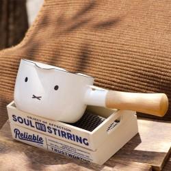 富士琺瑯 HoneyWare Miffy 牛奶鍋 12cm