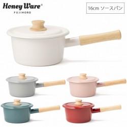 富士琺瑯 Cotton Series 16cm 單柄鍋