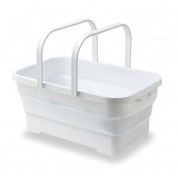 ISETO Soft Basket 多用途 摺疊籃 15L [白色]