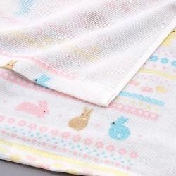 Japanese Style 紗巾布 Gauze 浴巾 [小兔]