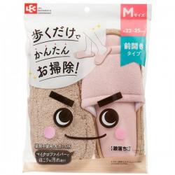LEC 激落君 超細纖維 清潔拖鞋 [M size Pink]