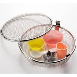 leye 洗碗碟機專用 不銹鋼 小物籃