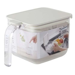 MARNA Good Lock Container 調味盒 WIDE 600ml [White]