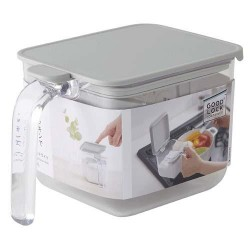 MARNA Good Lock Container 調味盒 WIDE 600ml [Grey]