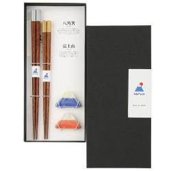 富士山 夫妻筷