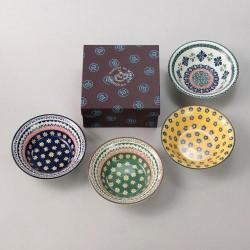 POLSKA 波蘭風格小花碗 (4個組)