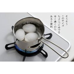 下村企販 不銹鋼 13cm 牛奶鍋