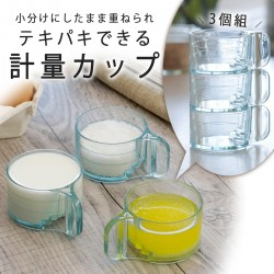 【現貨】下村企販 計量杯子 (3個組)