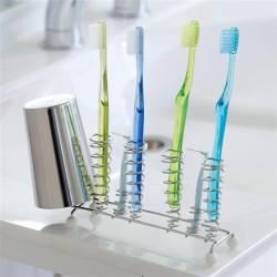 【現貨】下村企販 超slim 不銹鋼牙刷架
