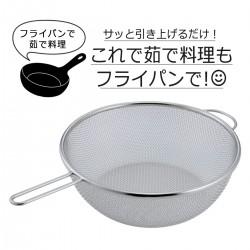 【現貨】下村企販 炒鍋型濾勺 24cm