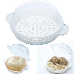 Skater 微波爐蒸包食物盒 [透明] (2個裝)