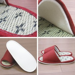 Tatami 榻榻米 拖鞋 十字紋 25cm