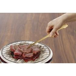 不銹鋼 燒肉食物夾 (金色)