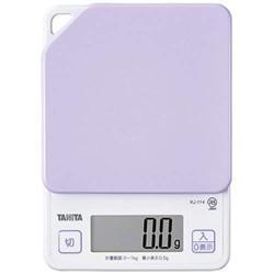 TANITA KJ-114 食物磅 [粉紫]