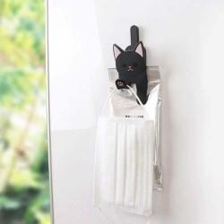 TOYO Case 貓貓多用途磁石掛鉤夾 [黑貓 № 536]