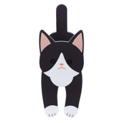 TOYO Case 貓貓多用途磁石掛鉤夾 [黑白貓 № 542]