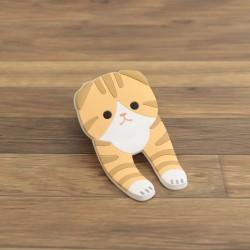 TOYO Case 貓貓多用途磁石掛鉤夾 [摺耳貓 № 543]